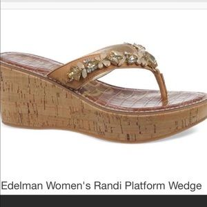 Sam Edelman Randi platform wedge sandals